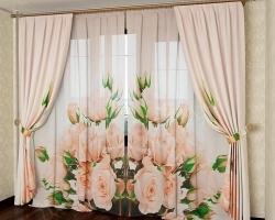 Комплекты шторы и тюль