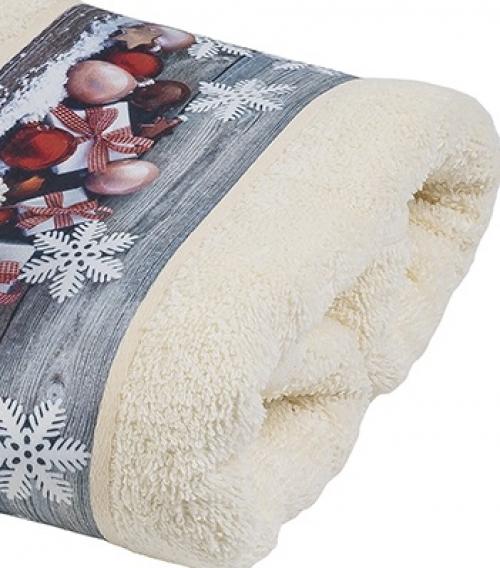 Новогодние полотенца махровые Лиан