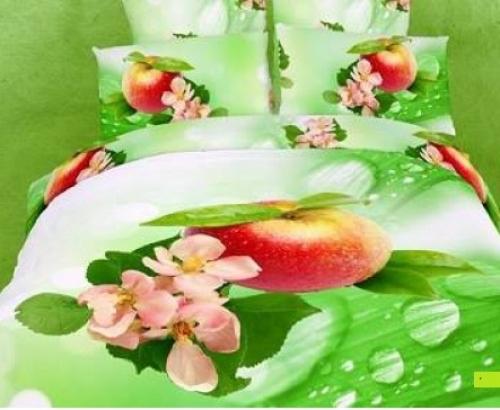 Постельное белье с яблоками 072