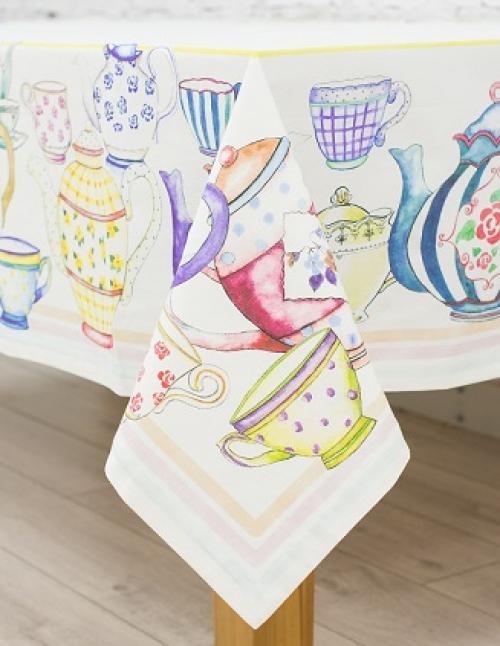Дизайнерская скатерть на стол Заварник