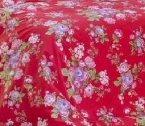 Постельное белье плотный сатин Малина скидка