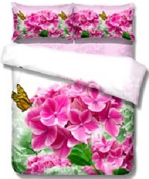 Постельное белье с цветами 3D 114