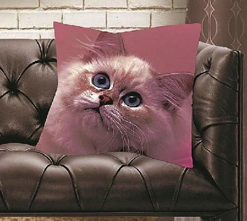 Декоративная подушка Кошка