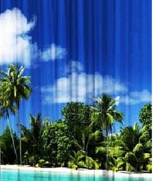 Комплект фотоштор Гаваи