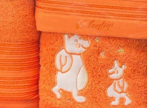 Набор детских полотенец Мишки