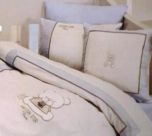 Элитное деткое постельное белье в кроватку Панды