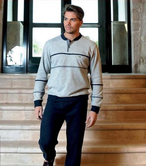 Мужская домашняя одежда пижама Флавон