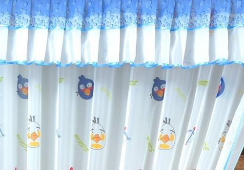 Шторы с покрывалом в детскую Д111