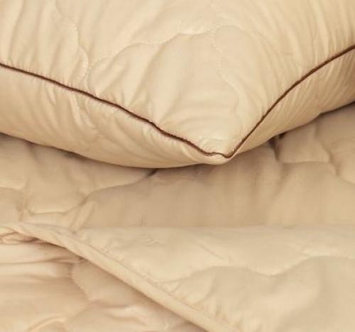 Подушки и одеяло верблюжий пух Гоби теплые зимние