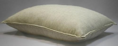 Подушка бамбук Лен с кружевом