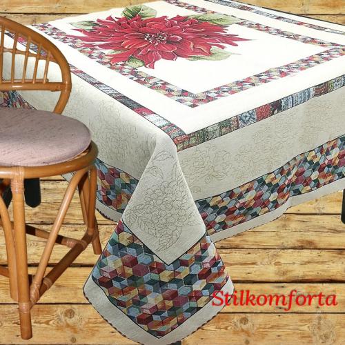 Скатерть гобеленовая на стол Мара