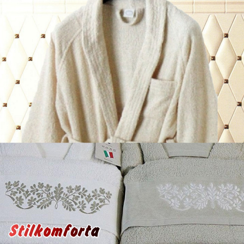 Набор халатов для ванной Маркат