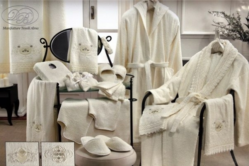 Набор халатов семейный Релаксио 14 предметов