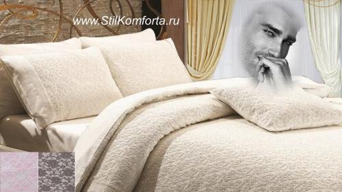 Элитное постельное белье сатин Куинос