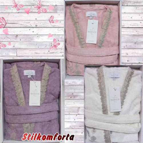 Бамбуковый женский халат Сида
