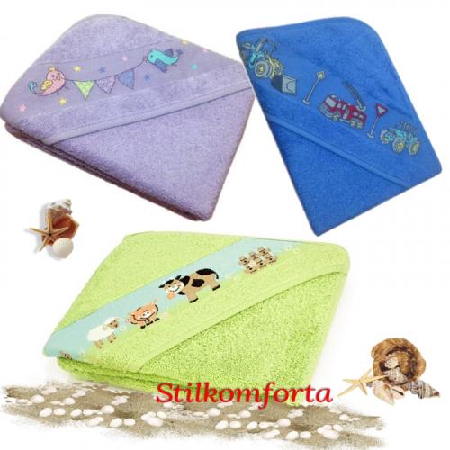 Детское полотенце уголок Киндек