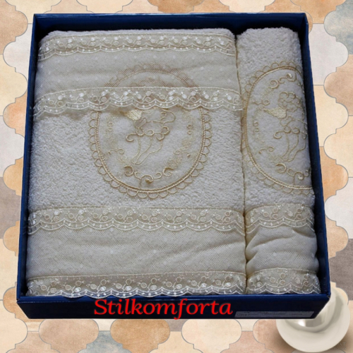 Набор подарочных полотенец Калиф