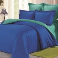 Сине-бирюзовое постельное белье С-030