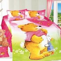 Детское постельное белье сатин Друзья