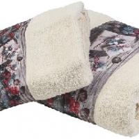 Новогодние полотенца махровые Саприя