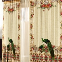 Комплект фотоштор Райские птицы