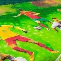 Детское покрывало хлопок Футбол