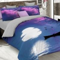 Комплект дизайнерского постельного белья А 017s