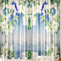 Комплект шторы и скатерть Весна