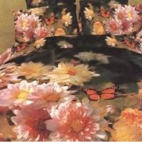 Постельное белье цветы 3D 080