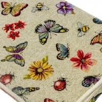 Скатерть гобеленовая Гоби бабочки