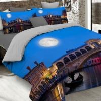 Комплект элитного постельного белья А 018s