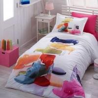Подростковое постельное белье 3d Радуга