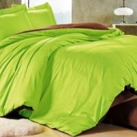 Однотонное постельное белье сатин С-06