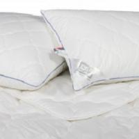 Подушки и одеяло Лаванда