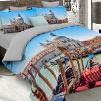 Комплект дизайнерского постельного белья А 002s