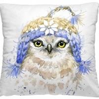 Декоративная подушка Птица