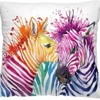 Декоративная подушка Зебры