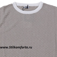 Мужской пуловер трикотаж Эмо
