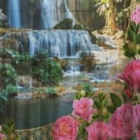 Комплект фотоштор Божественный сад
