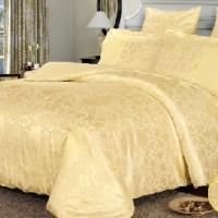Свадебное постельное белье жаккард Злато