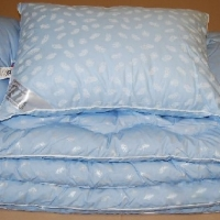 Подушки и одеяло Лебяжий пух