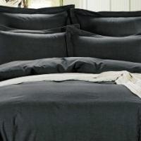 Постельное белье льняное Блек