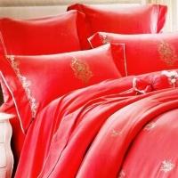 Постельное белье сатин с вышивкой 100 058Val