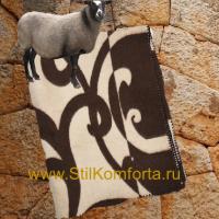 Одеяло жаккард овечья шерсть 01