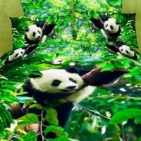 Постельное белье с пандами 060