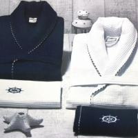 Набор мужской халат с полотенцами Марик