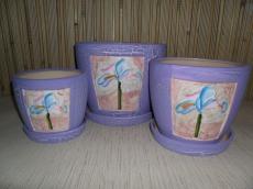 Цветочные горшки Ирис