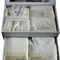 Элитный набор халатов Самони 25 предметов