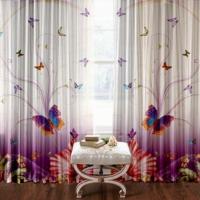 Комплект фотоштор Полет бабочки