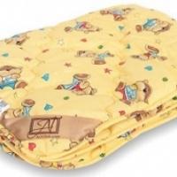 Детское одеяло овечья шерсть легкое